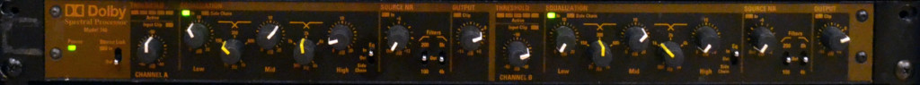 Dolby 740 Spectral Processor